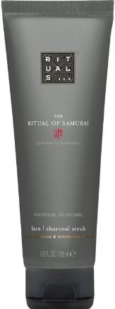 The Ritual of Samurai Face Charcoal Scrub 武士系列男士木炭磨砂膏125毫升