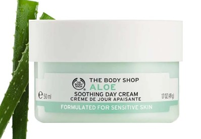 The Body Shop Aloe Soothing Day Cream芦荟舒缓日霜