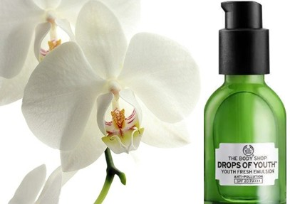 The Body Shop Drops of Youth™ Youth Fresh Emulsion SPF20 青春防晒润肤乳