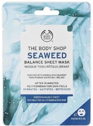 The Body Shop Seaweed Balance Sheet Mask海藻片装面膜