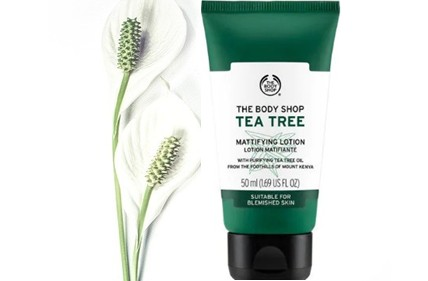 The Body Shop Tea Tree Mattifying Lotion茶树哑光保湿乳液