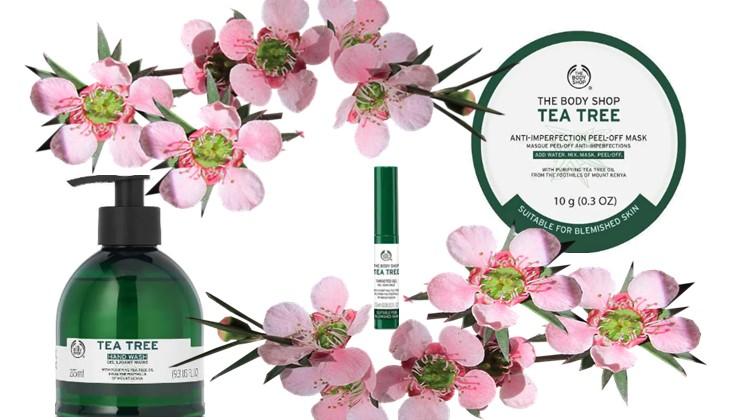 The Body Shop Tea Tree Anti-Imperfection Peel-Off Mask茶树抗瑕疵撕离面膜