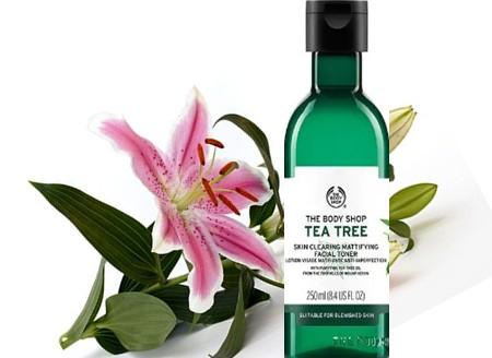 The Body Shop Tea Tree Skin Clearing Mattifying Toner茶树爽肤水
