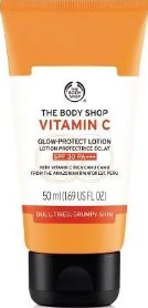 The Body Shop Vitamin C Glow-Protect Lotion SPF30 维他命C防嗮护肤乳