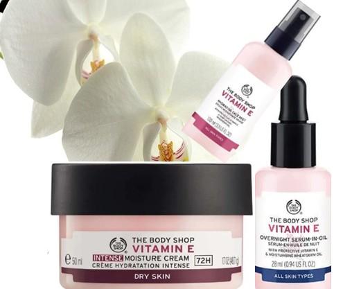 The Body Shop Vitamin E Range 维他命E系列产品详情