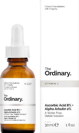 The Ordinary Ascorbic Acid 8% + Alpha Arbutin 2% (8%抗坏血酸+2%熊果苷)