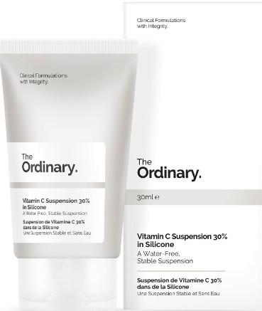 The Ordinary Vitamin C Suspension Cream 30% in Silicone (30%维生素C有机硅悬浮霜)