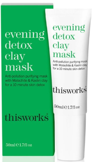 This Works Evening Detox Clay Mask 晚间排毒面膜泥50毫升