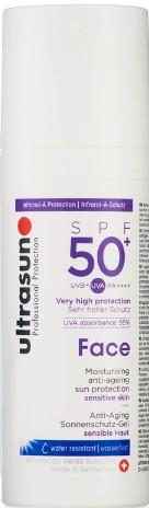 Ultrasun Face Anti-Ageing Lotion SPF 50+ 50ml (Ultrasun 抗衰老防晒面霜 SPF 50+ (50毫升))