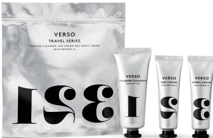 VERSO Essential Travel Series (Verso 旅行必备的护肤系列产品)