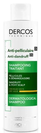 VICHY Dercos Anti-Dandruff - Dry Hair Shampoo 去头皮屑洗发露200毫升