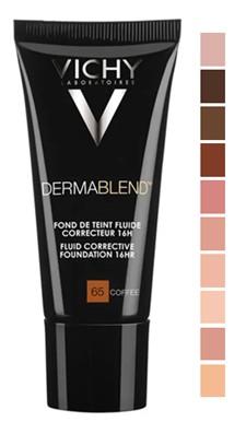 VICHY Dermablend Corrective Fluid Foundation 修护粉底液30毫升 (多种颜色可供选择)