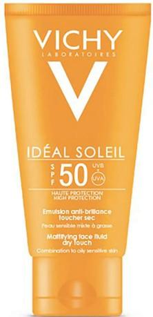 VICHY Idéal Soleil Dry Touch Face Cream SPF 50 防晒面霜50毫升
