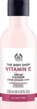 The Body Shop Vitamin E Cream Cleanser维生素E洁面乳