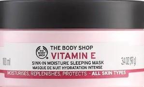 The Body Shop Vitamin E Sink In Moisture Sleeping Mask 维他命E保湿隔夜面膜