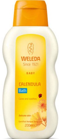 Weleda Baby Calendula Bath 维蕾德金盏花婴儿沐浴露 (200毫升)