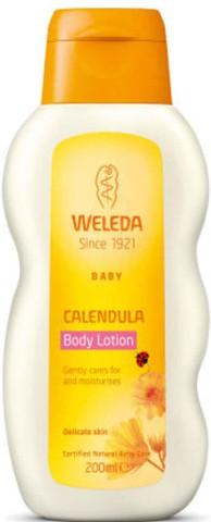 Weleda Baby Calendula Body Lotion维蕾德金盏花婴儿护肤乳(200毫升)