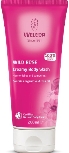 Weleda Wild Rose Creamy Body Wash 野玫瑰乳状沐浴露200毫升