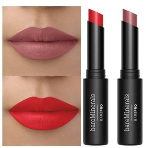 bareMinerals Full Size Barepro Longwear Lipstick Duo 口红二重奏
