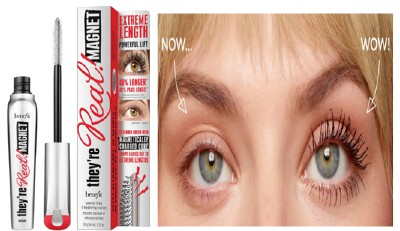 benefit They're Real Magnet Extreme Lengthening and Powerful Lifting Mascara - Supercharged Black 贝玲妃深黑磁铁增长和强效提升睫毛膏9克