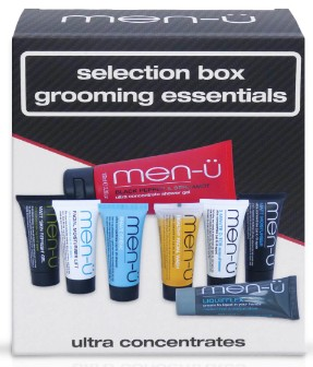 men-ü Selection Box Grooming Essentials男士修饰和护肤精选礼盒